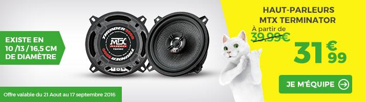 offre haut-parleurs MTX