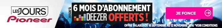 Pioneer autoradio abonnement deezer gratuit