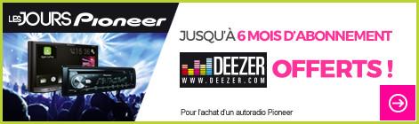 pioneer deezer