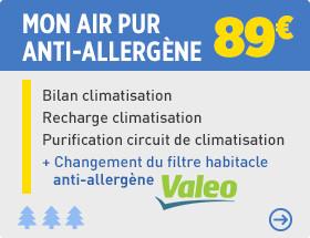 Prix recharge clim auto feu vert