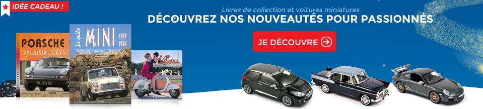 livres collection et voitures miniatures