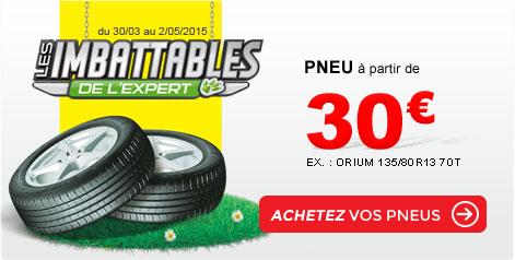 pneus imbattables