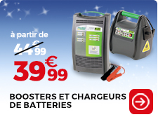 chargeur et booster de batteries