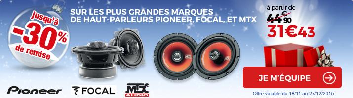 HP pioneer focal mtx