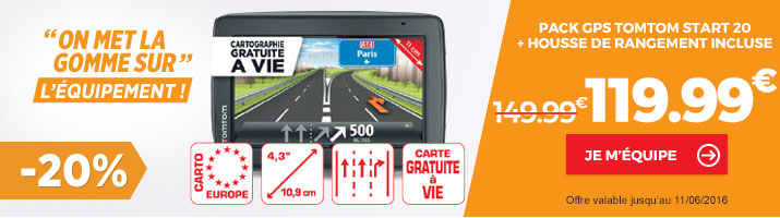 GPS voiture TOMTOM Start 20