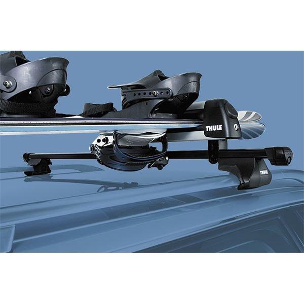 2 porte ski thule delux 740 feu vert. Black Bedroom Furniture Sets. Home Design Ideas
