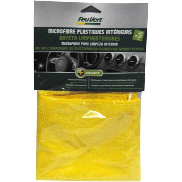 microfibre plastique int rieur 40x30 cm feu vert feu vert. Black Bedroom Furniture Sets. Home Design Ideas