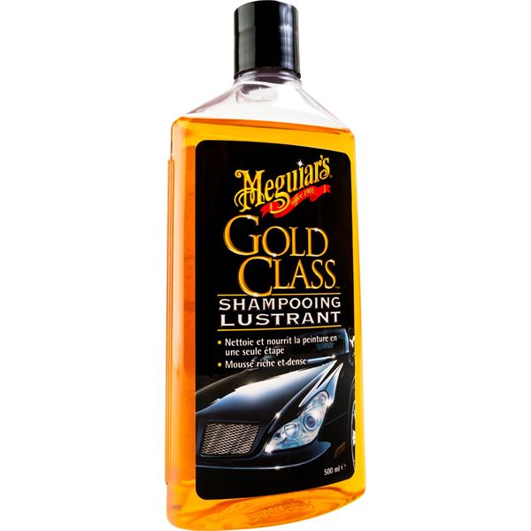 shampooing lustrant gold class meguiar 39 s 500 ml feu vert. Black Bedroom Furniture Sets. Home Design Ideas
