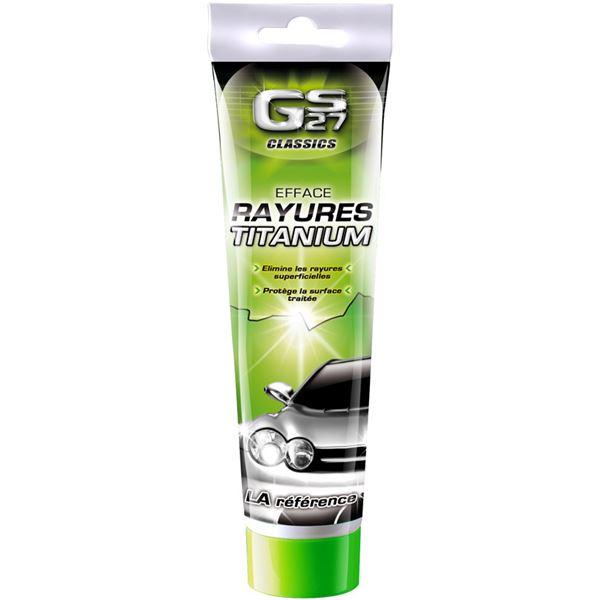 efface rayures titanium gs27 classics 150g feu vert. Black Bedroom Furniture Sets. Home Design Ideas