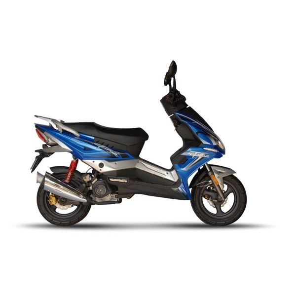 scooter 50 cc eurocka matador bleu feu vert. Black Bedroom Furniture Sets. Home Design Ideas