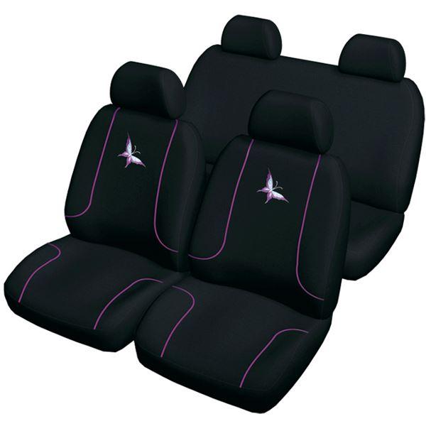 housses de si ges taille universelle lilou sweet car feu vert. Black Bedroom Furniture Sets. Home Design Ideas