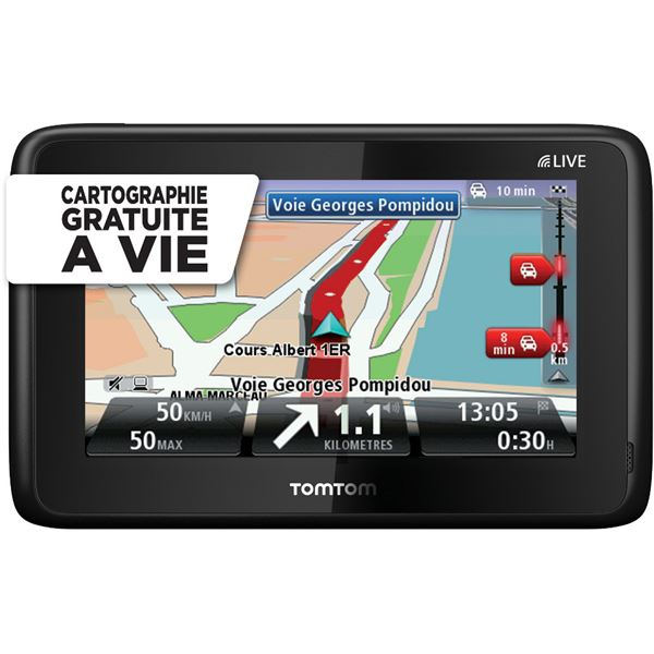 gps tomtom go live 1005 europe m cartographie gratuite. Black Bedroom Furniture Sets. Home Design Ideas