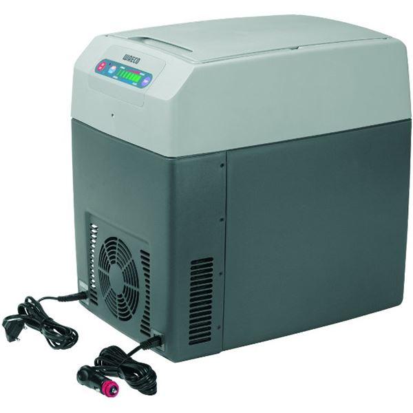 glaci re thermo lectrique 12 24 230v waeco tropicool 21l a feu vert. Black Bedroom Furniture Sets. Home Design Ideas