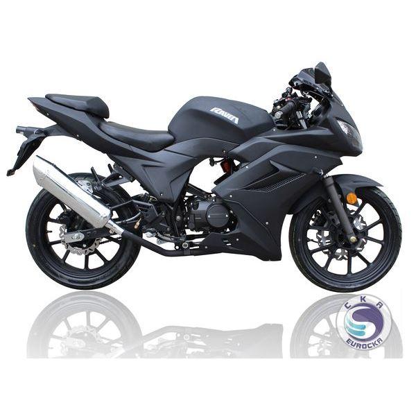 moto 50 cc eurocka motrac noir feu vert. Black Bedroom Furniture Sets. Home Design Ideas