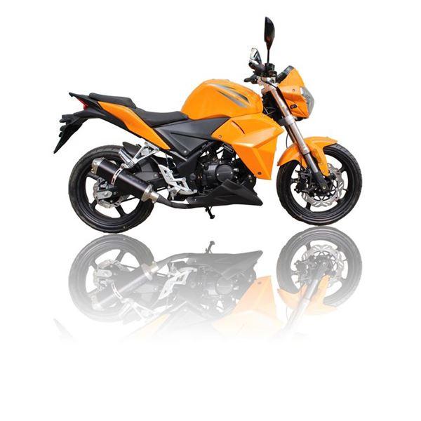 moto 50 cc eurocka roadster orange feu vert. Black Bedroom Furniture Sets. Home Design Ideas