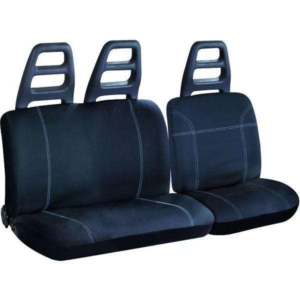 housse adaptable guayaquil customagic pour utilitaire siege banquette feu vert. Black Bedroom Furniture Sets. Home Design Ideas