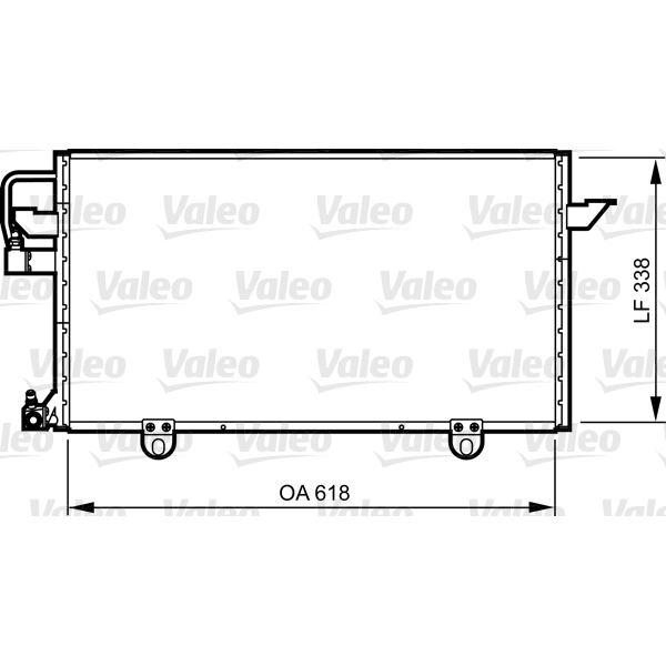 condenseur de climatisation valeo 814286 feu vert. Black Bedroom Furniture Sets. Home Design Ideas