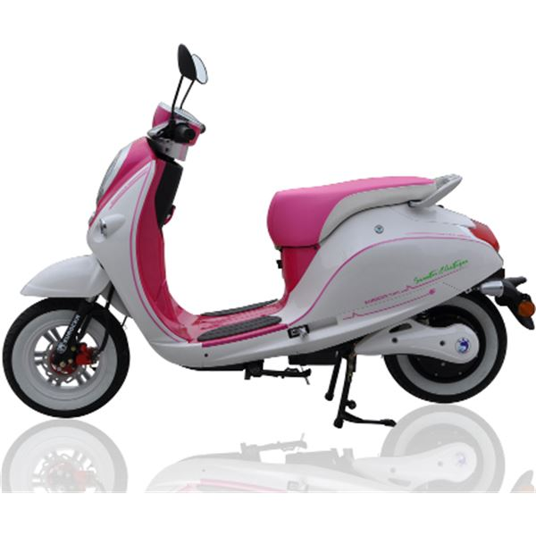 scooter lectrique 1500w cka green rose eurocka feu vert. Black Bedroom Furniture Sets. Home Design Ideas