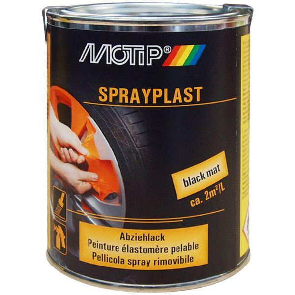 elastom re pelable sprayplast peinture noir mat 750 ml feu vert. Black Bedroom Furniture Sets. Home Design Ideas