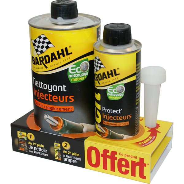lot nettoyant injecteurs diesel 1l protection injecteurs 300ml bardahl feu vert. Black Bedroom Furniture Sets. Home Design Ideas