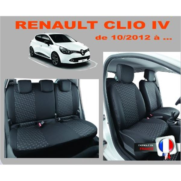 housse premium pour clio 4 feu vert. Black Bedroom Furniture Sets. Home Design Ideas