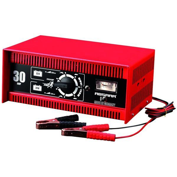 chargeur de batterie 30 amp absaar 12 24v feu vert. Black Bedroom Furniture Sets. Home Design Ideas