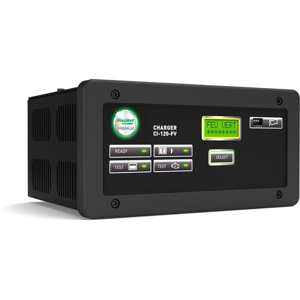 chargeur de batteries intelligent feu vert premium ci 120. Black Bedroom Furniture Sets. Home Design Ideas