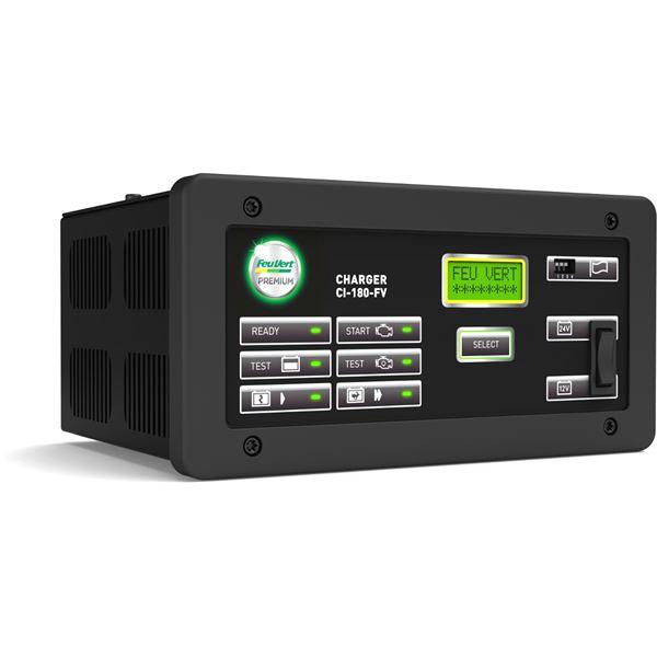 chargeur de batteries intelligent feu vert premium ci 180 feu vert. Black Bedroom Furniture Sets. Home Design Ideas