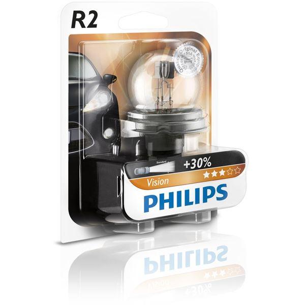 ampoule philips vision r2 feu vert. Black Bedroom Furniture Sets. Home Design Ideas