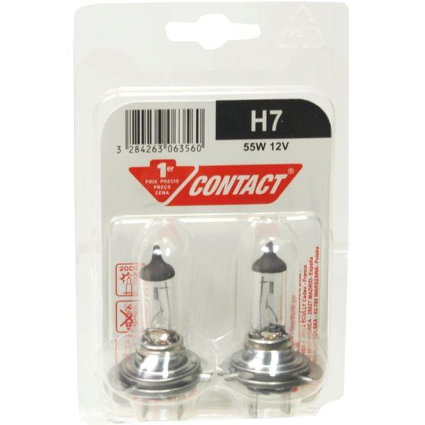 2 ampoules h7 1er prix contact feu vert. Black Bedroom Furniture Sets. Home Design Ideas