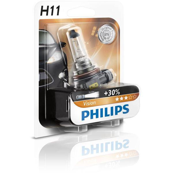 ampoule philips vision h11 feu vert. Black Bedroom Furniture Sets. Home Design Ideas