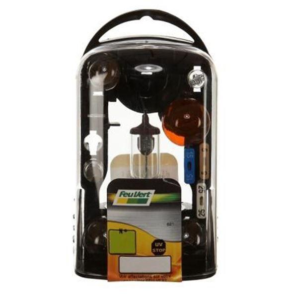 coffret d 39 ampoules ce r2 feu vert feu vert. Black Bedroom Furniture Sets. Home Design Ideas