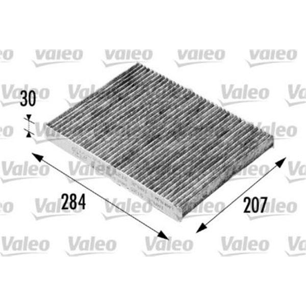 filtre d 39 habitacle valeo fh207 feu vert. Black Bedroom Furniture Sets. Home Design Ideas