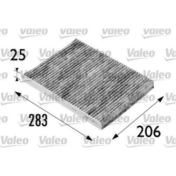 filtre d 39 habitacle valeo fh205 feu vert. Black Bedroom Furniture Sets. Home Design Ideas