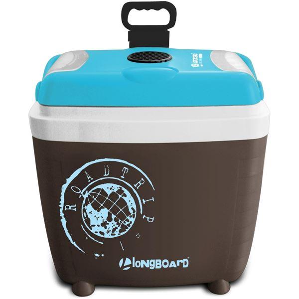 glaci re lectrique 12 230v marron bleue 28 litres a longboard feu vert. Black Bedroom Furniture Sets. Home Design Ideas