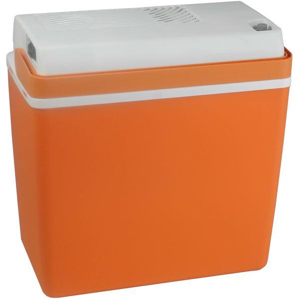 glaci re lectrique 12 230v ezetil e24 mirabelle orange 20. Black Bedroom Furniture Sets. Home Design Ideas