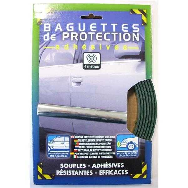 baguette de protection adh sive chrom e 20mm x 4ml feu vert. Black Bedroom Furniture Sets. Home Design Ideas