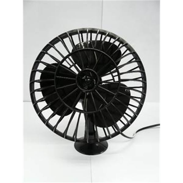 ventilateur plastique 12 volts ventouse feu vert. Black Bedroom Furniture Sets. Home Design Ideas