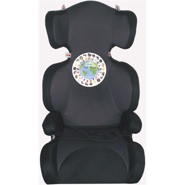 r hausseur auto cindy 4 noir et gris pour enfants groupe 2 3 de 15 36 kg feu vert. Black Bedroom Furniture Sets. Home Design Ideas