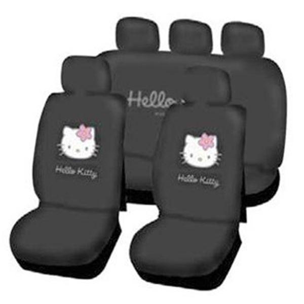 ensemble de housses universelles hello kitty feu vert. Black Bedroom Furniture Sets. Home Design Ideas