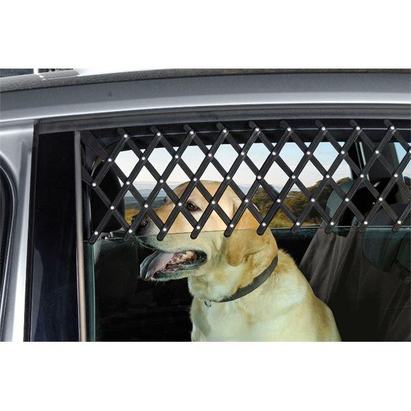 Pare chien grille fen tre voiture feu vert for Protection fenetre chat