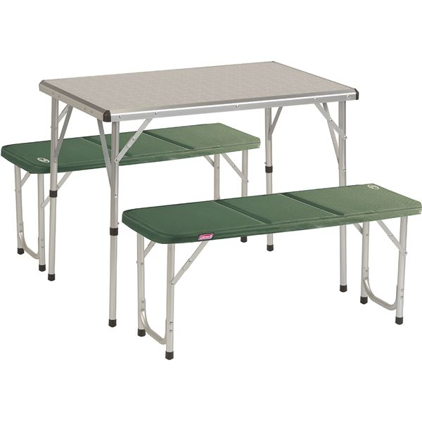 Table camping 4 personnes coleman feu vert for Table 4 personnes dimensions