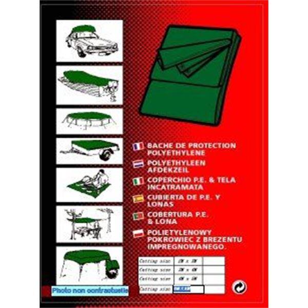 b che plate universelle 2 x 3 m feu vert. Black Bedroom Furniture Sets. Home Design Ideas