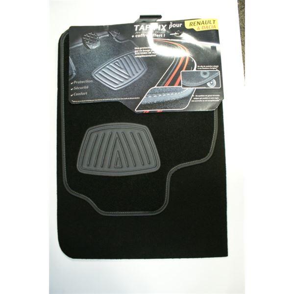 tapis moquette pour renault coffre offert tapifix feu vert. Black Bedroom Furniture Sets. Home Design Ideas