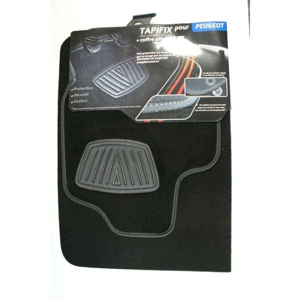 tapis moquette pour peugeot coffre offert tapifix feu vert. Black Bedroom Furniture Sets. Home Design Ideas