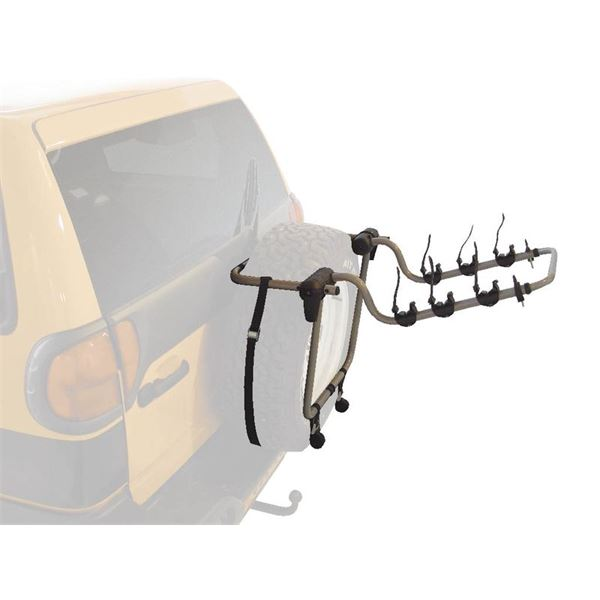 porte v los sur roue de secours automaxi rider 4x4 pour 3 v los feu vert. Black Bedroom Furniture Sets. Home Design Ideas