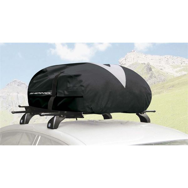 coffre de toit pliable sherpack fix 39 in greenway 270 l feu vert. Black Bedroom Furniture Sets. Home Design Ideas