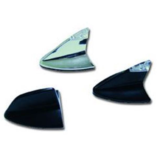 antenne shark factice noire feu vert. Black Bedroom Furniture Sets. Home Design Ideas