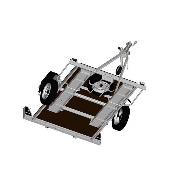 rangement de rampe alu remorque sur chassis 451 751 erd. Black Bedroom Furniture Sets. Home Design Ideas