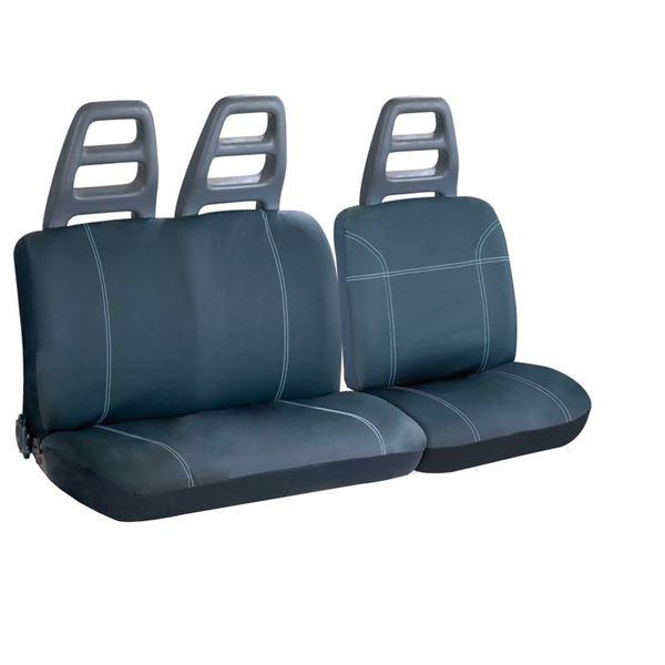 housses de si ges universelles sp ciales utilitaire tep noir feu vert. Black Bedroom Furniture Sets. Home Design Ideas